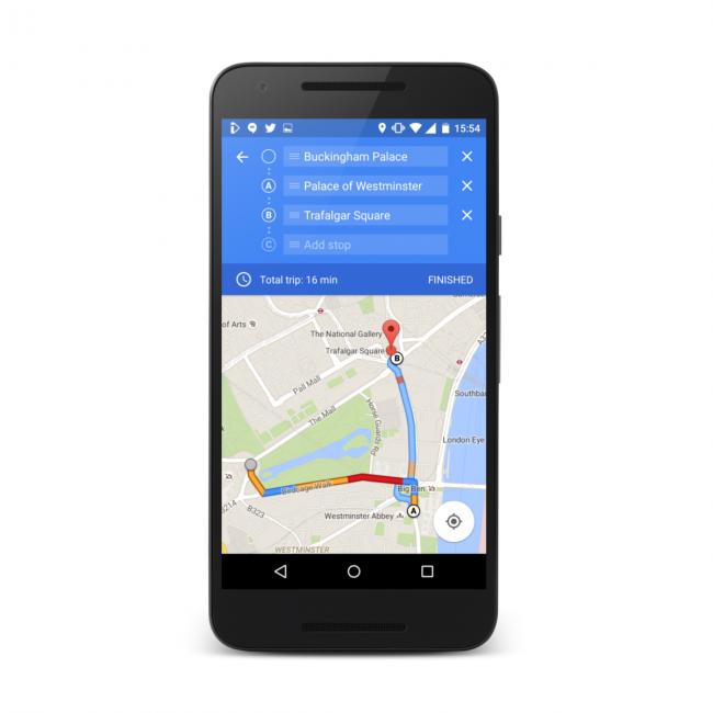 Wiele punktów w google maps
